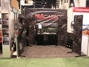 MAcarbon's SEMA booth
