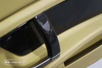 California OEM Carbon Door Panel Inserts