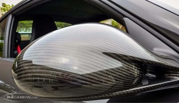 Porsche 997 Outside Mirror Set Gen2 2009+ - Top and Bottom