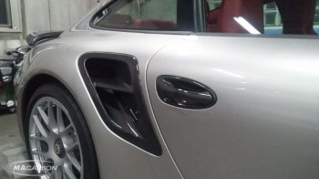 Porsche 997 Turbo Side Inlet Vent Set