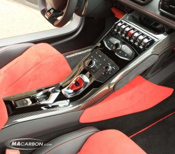 Huracan Console Side Trim Set